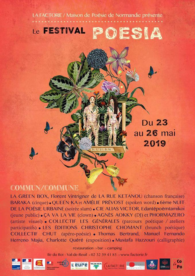 Poesia : l'envolée poétique du 23 au 26 mai