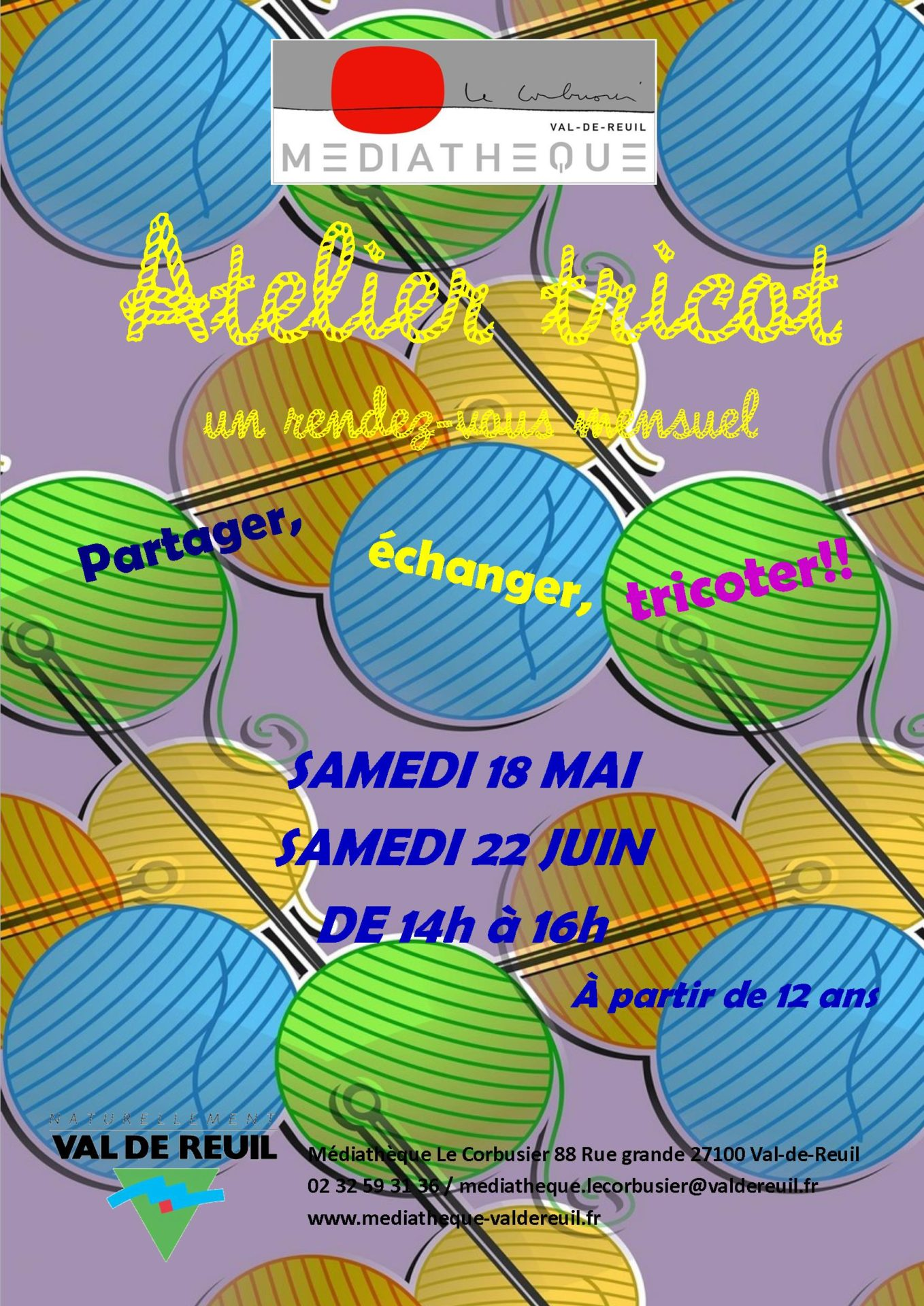Loisirs – Atelier tricot