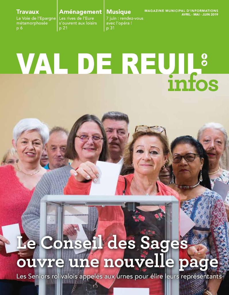 Val de Reuil_Infos N°12 Avril - Mai - Juin 2019