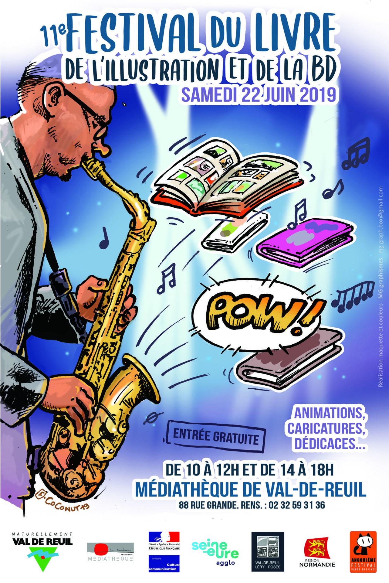 Culture – 11ème Festival du livre, de l'illustration et de la BD