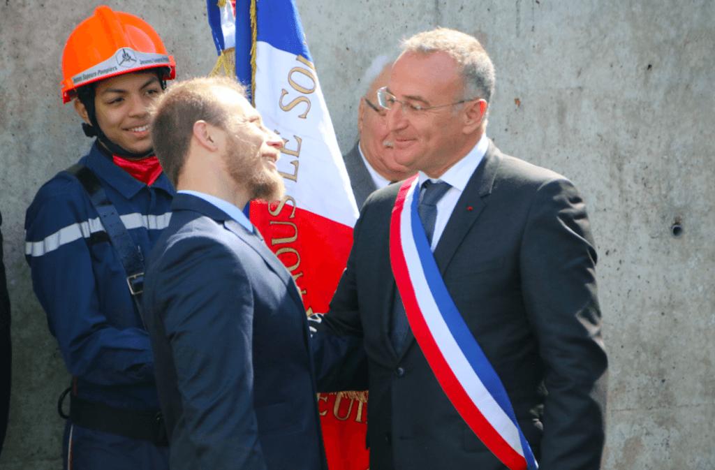 Marc-Antoine Jamet a rappelé à Benoît Balut toute l'affection qu'il lui porte