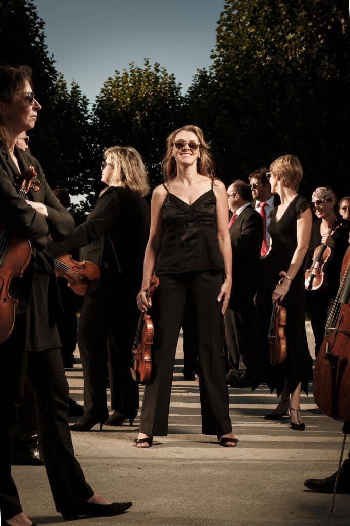 Le 7 juin à Val-de-Reuil : un concert symphonique comme vous en avez rarement vu. Près de 200 musiciens et chanteurs réunis pendant un peu plus d'une heure ©-David-Morganti
