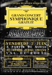 Concert symphonique du 7 Juin 2019 par l'Opéra de Rouen - Normandie