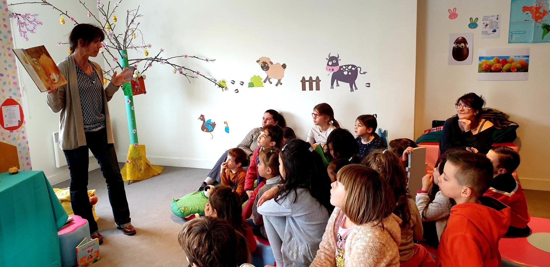 Contes d'été et atelier créatif « fabriquons des cerfs-volants »,  à la médiathèque Le Corbusier