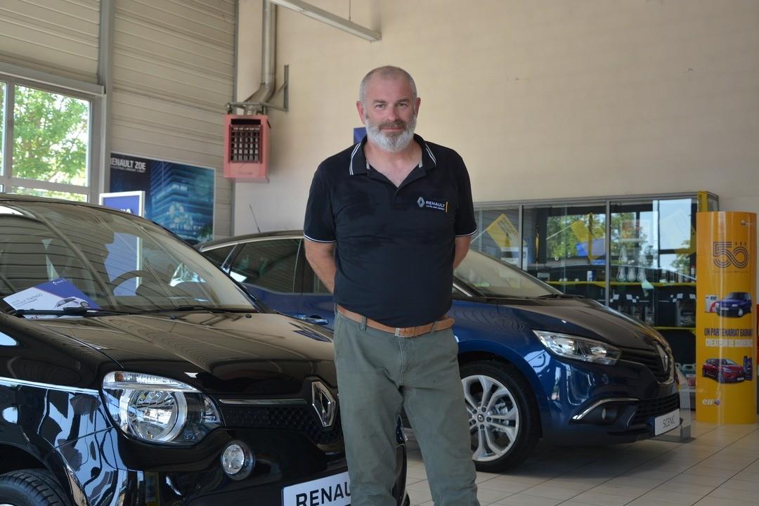 Un nouveau visage à la tête de l'agence Renault