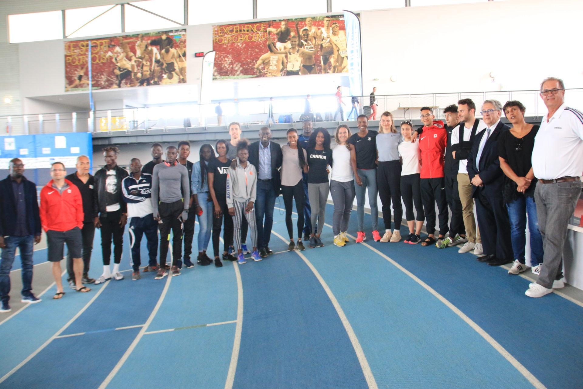 Athlétisme : ces champions canadiens et africains qui ont choisi Val-de-Reuil
