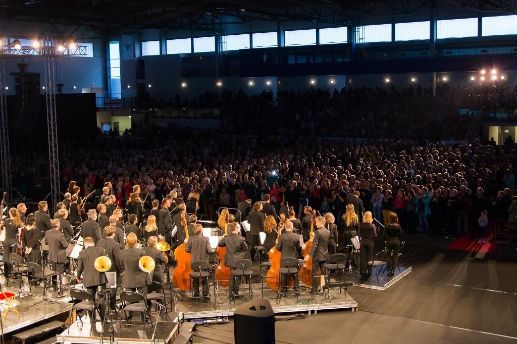 Le sublime succès du concert symphonique du 7 Juin 2019 à Jesse Owens en images