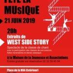 Le Conservatoire fête la musique - 21 Juin 2019
