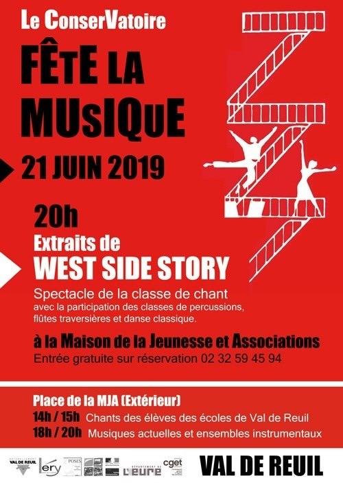 Le Conservatoire fête la musique – 21 Juin 2019