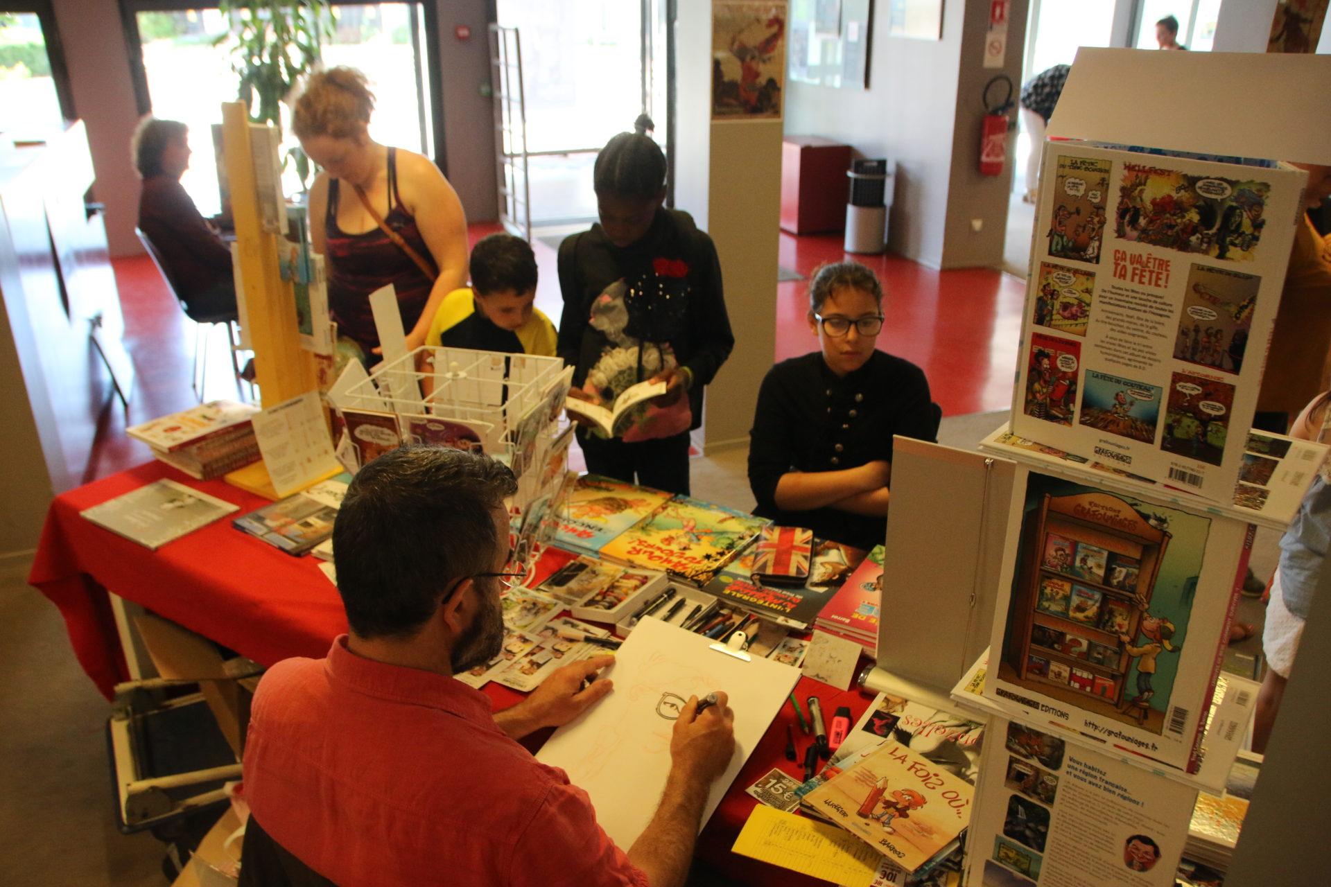 22 juin : tous au festival du livre, de la BD et de l'illustration !