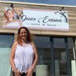 Salariée pendant 10 ans, Adeline Damieux vient d'ouvrir son propre institut