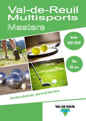 Inscription Multisport Master (dès 60 ans) 2019-2020