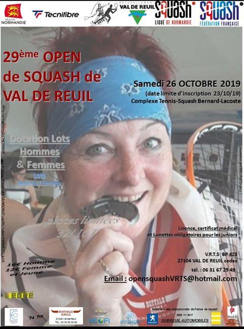 29ème Open de Squash de Val-de-Reuil