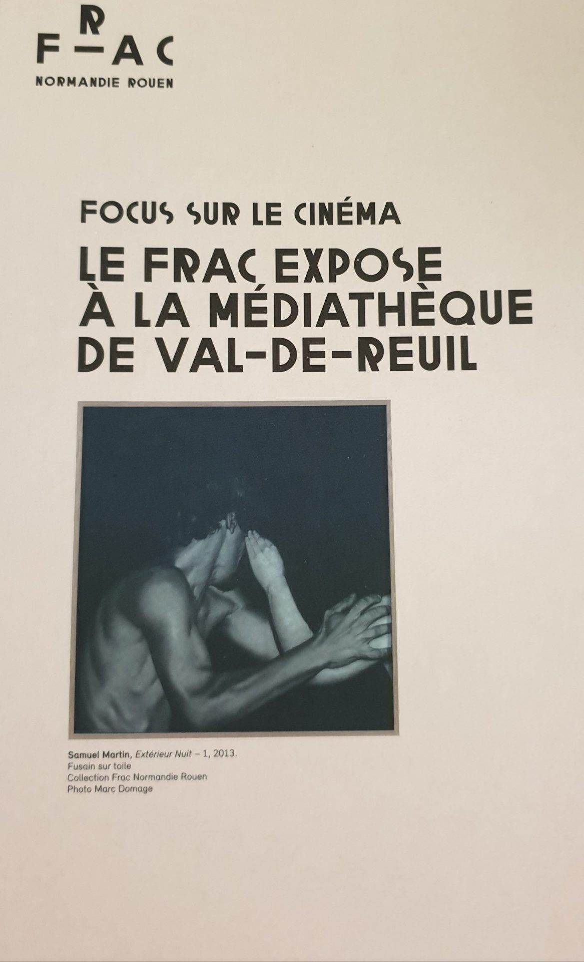 """Vernissage de l'Exposition """"Extérieur Nuit"""" à la médiathèque Le Corbusier"""