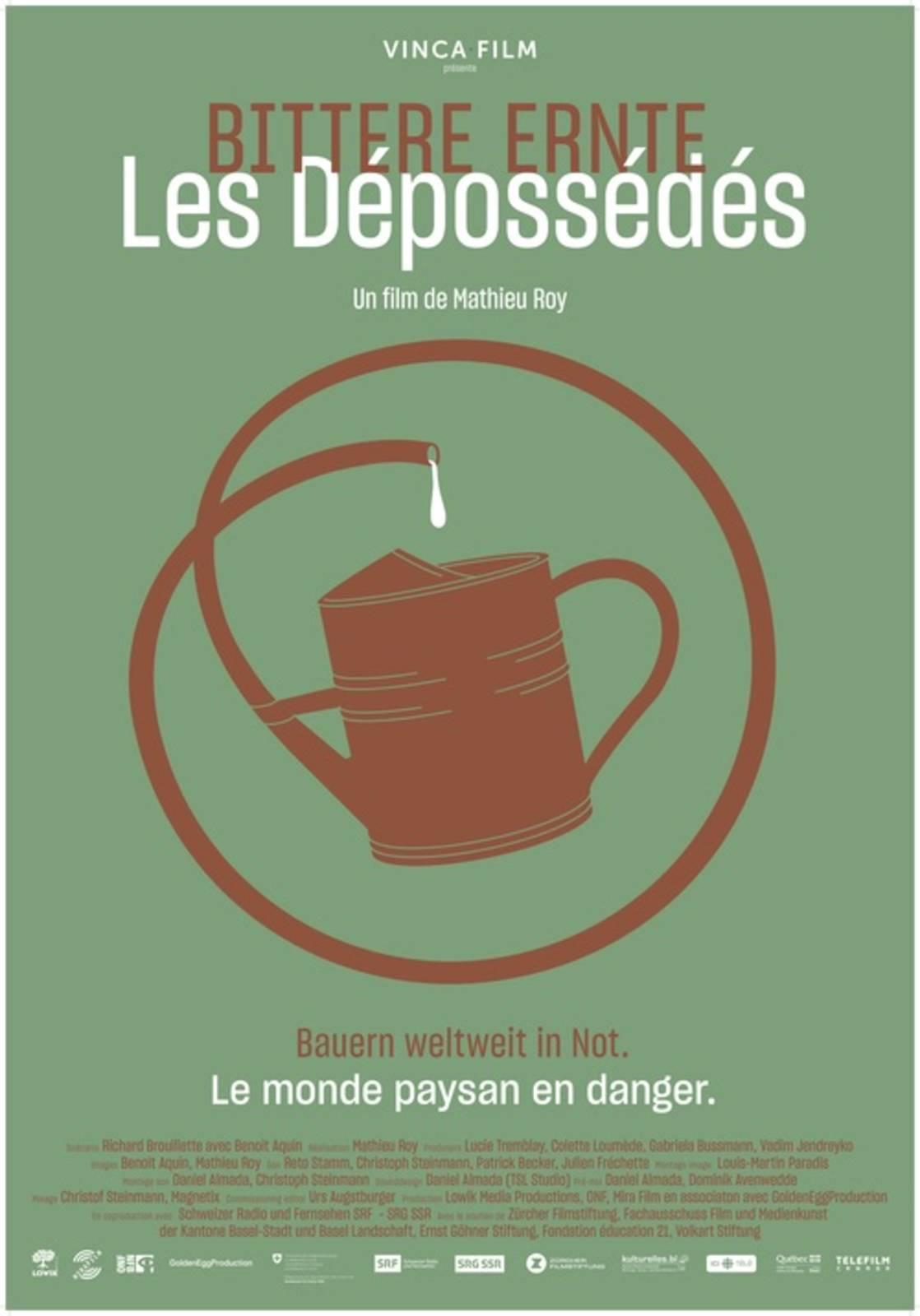 """Cinéma – Soirée spéciale – """"Les Dépossédés"""", Mathieu Roy"""