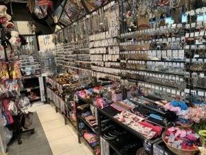 Clip'in, des bijoux mais aussi des cadeaux, des accessoires, des cosmétiques...