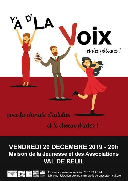 """Conservatoire Intercommunal de Musique et de Danse – """"Y'a de la Voix"""""""