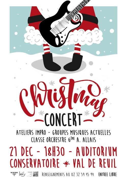 Conservatoire Intercommunal de Musique et de Danse – Concert de Noël