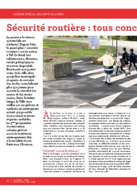 Dossier Spécial Sécurité routière – Val de Reuil_Infos n°15