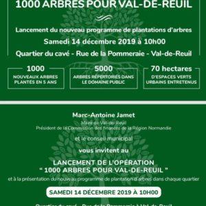 1.000 arbres pour Val-de-Reuil