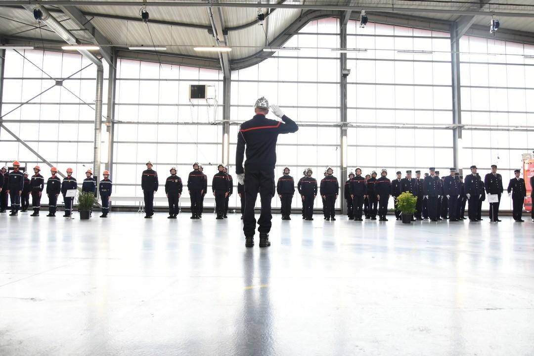 Un nouveau commandant chez les pompiers
