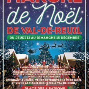 Marché de Noël du 12 au 15 Décembre 2019