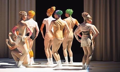 Théâtre de l'Arsenal – «Chiquenaudes / Romance en stuc», Daniel Larrieu