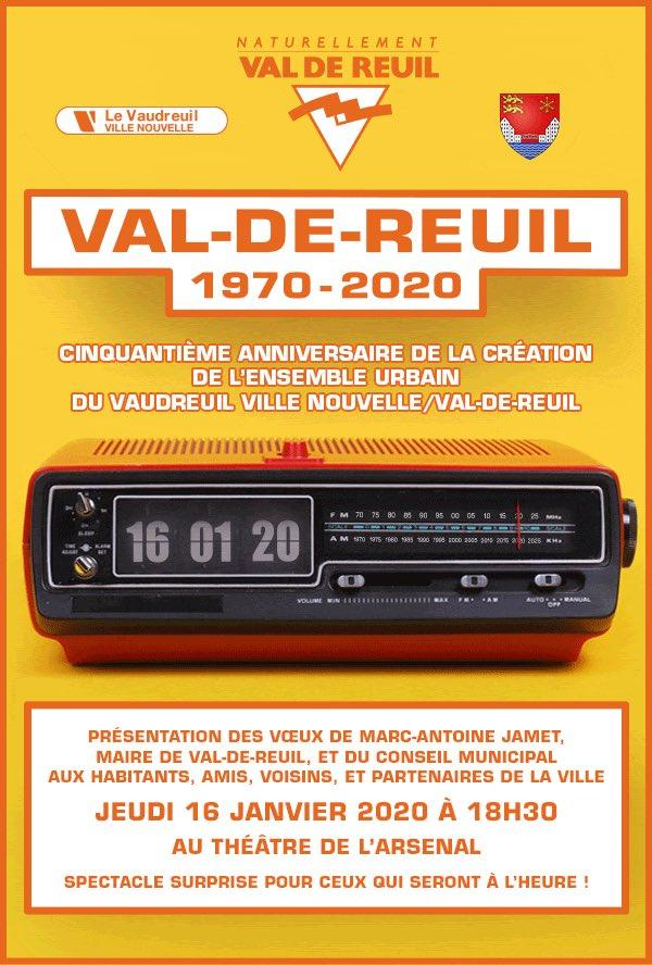 Vœux 2020 de Marc Antoine Jamet et de la Municipalité
