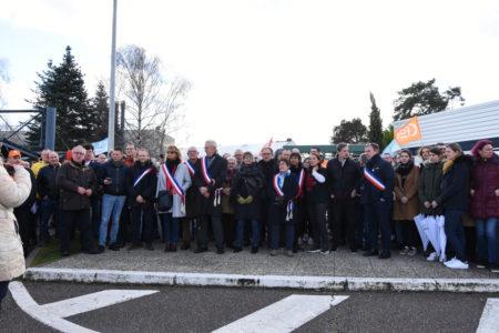 Janssen-Cilag : 300 personnes mobilisées pour dire non à la fermeture !