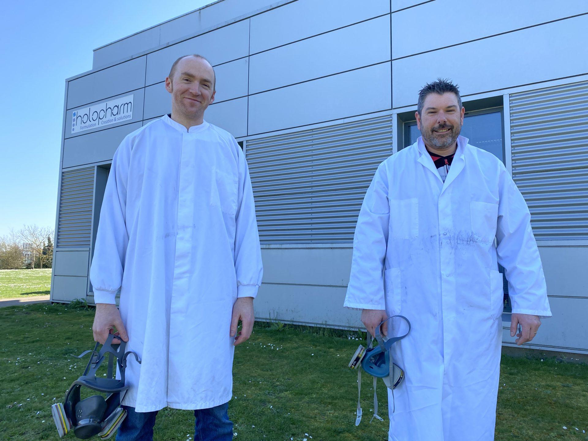 Le geste solidaire d'Holopharm: 1700 litres de solution hydro alcoolique fabriqués pour l'hôpital