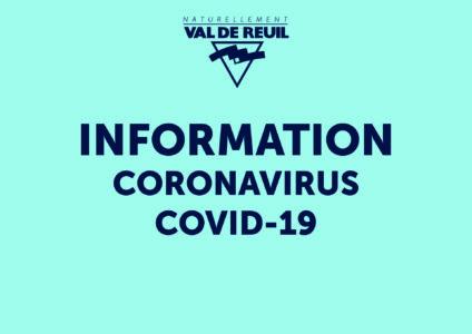 Informations de la Mairie de Val-de-Reuil à destination des personnes qui résident et/ou travaillent sur la commune