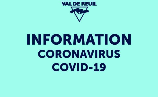 Mesures de confinement : la Ville de Val-de-Reuil reste mobilisée  au service et à l'écoute des Rolivalois