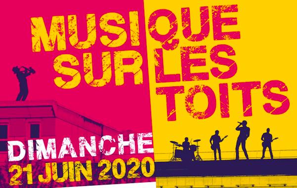 Dimanche 21 juin : la musique s'invite sur les toits