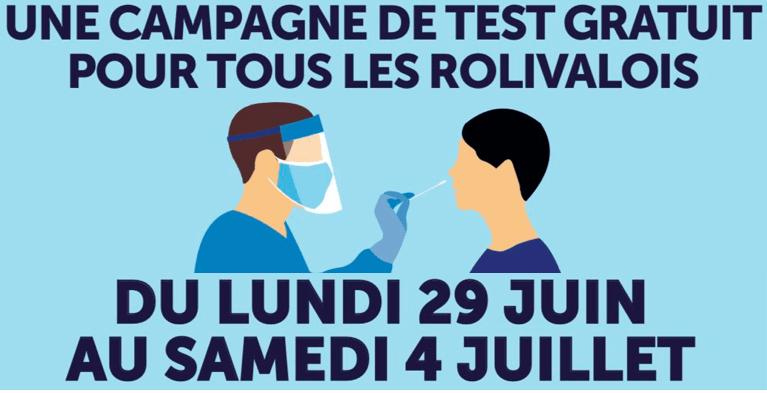 Covid-19 : une campagne de dépistage gratuit à Val-de-Reuil du lundi 29 juin au samedi 4 juillet
