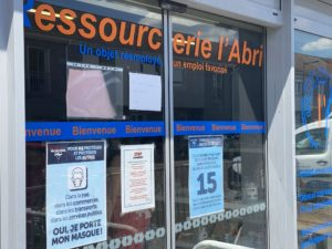 La Ressourcerie est ouverte le mardi de 13h00 à 18h00 et du mercredi au samedi de 10h00 à 18h00.