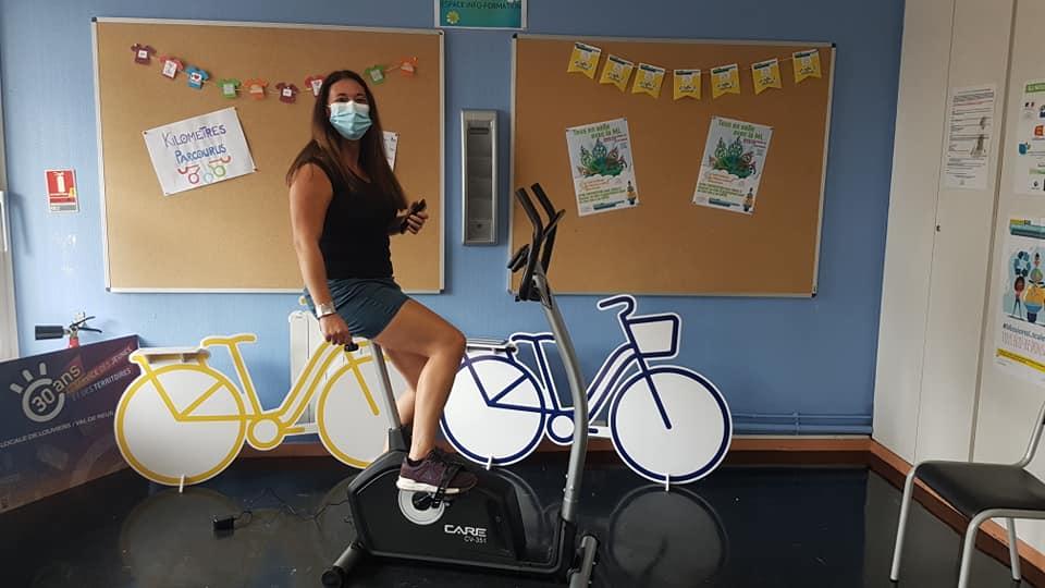 La Mission Locale rolivaloise a remporté le cyclo-challenge !