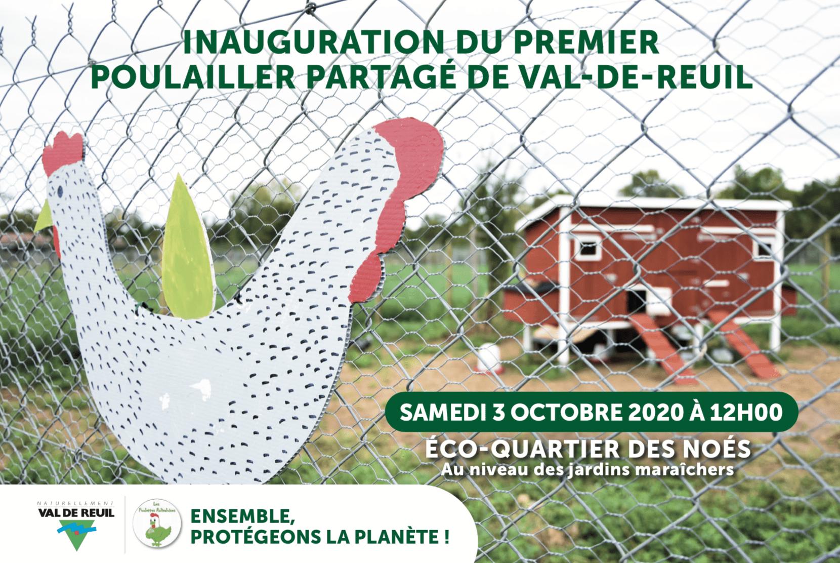 INAUGURATION DU PREMIER POULAILLER PARTAGE DE VAL-DE-REUIL
