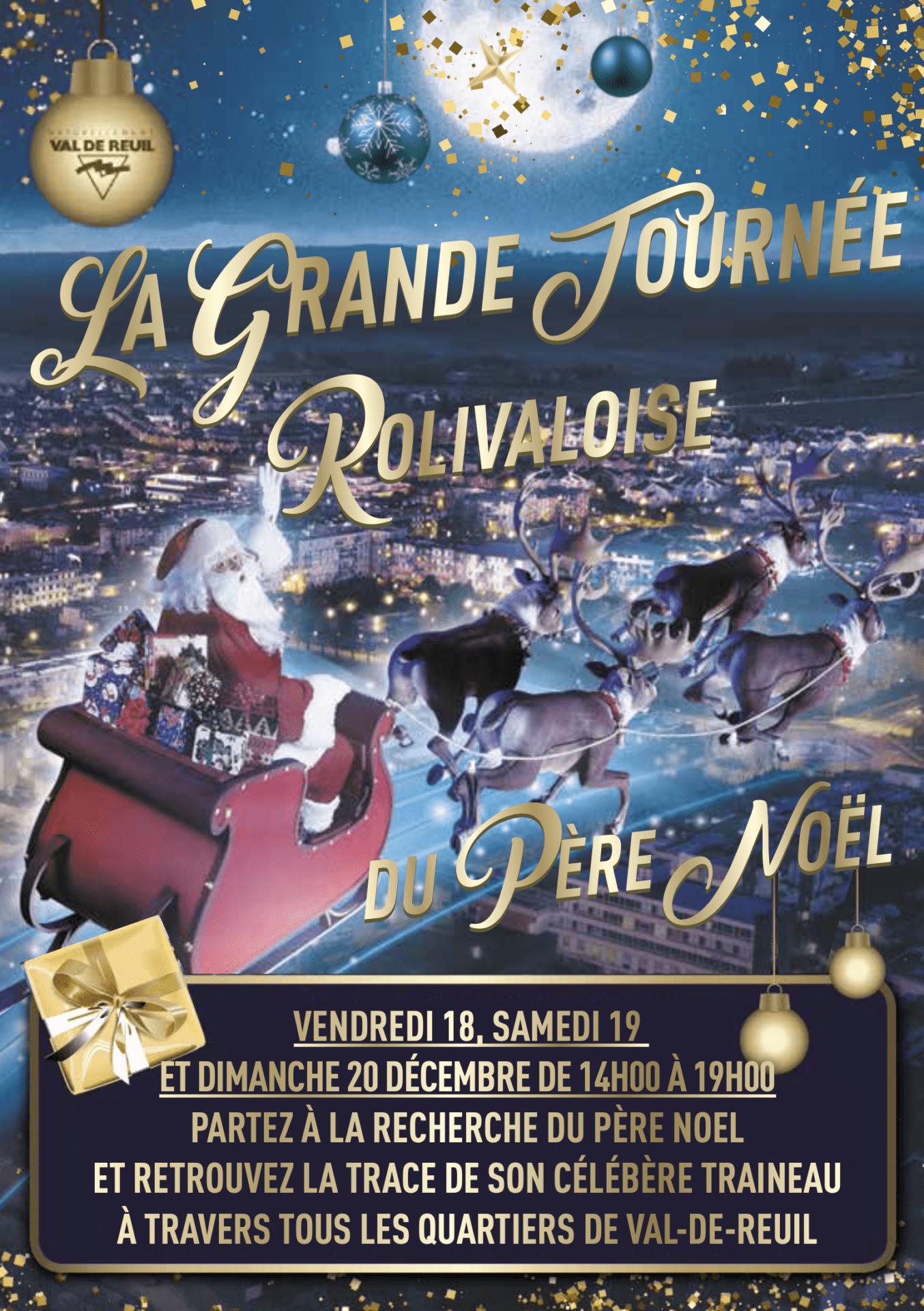A Val-de-Reuil, le père Noël est chez lui!
