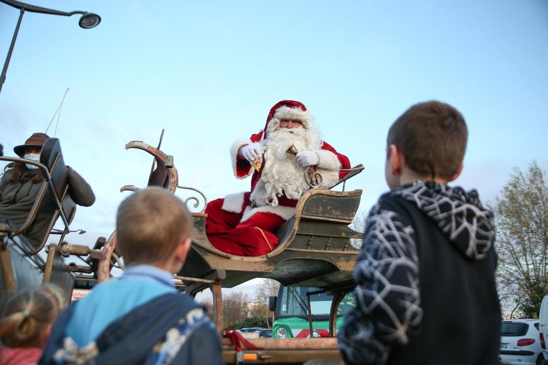 Le Père Noël a conquis le cœur des Rolivalois