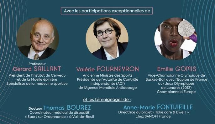 Le sport, ma santé au quotidien :  La ville organise une conférence digitale avec des invités d'exception !