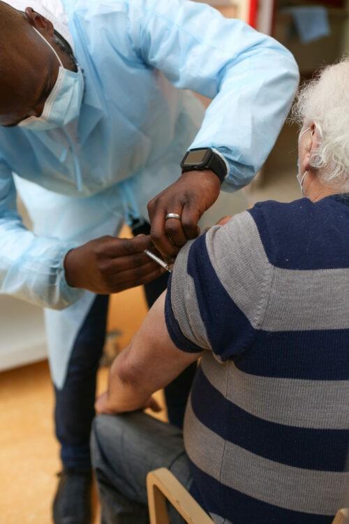 Vaccination: coup d'envoi donné pour les résidents de l'Espages!