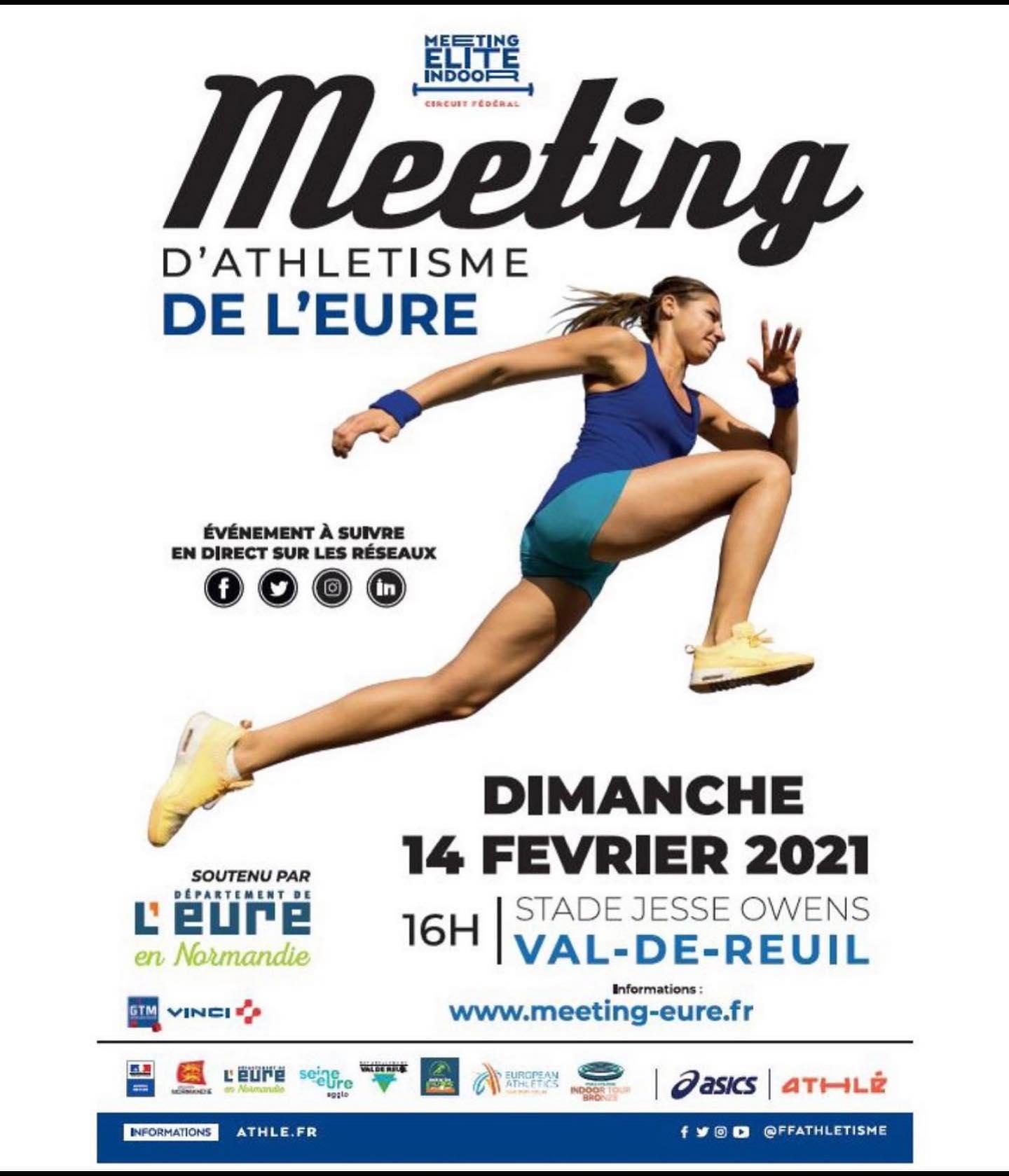 Des stars de l'athlétisme à Val-de-Reuil !