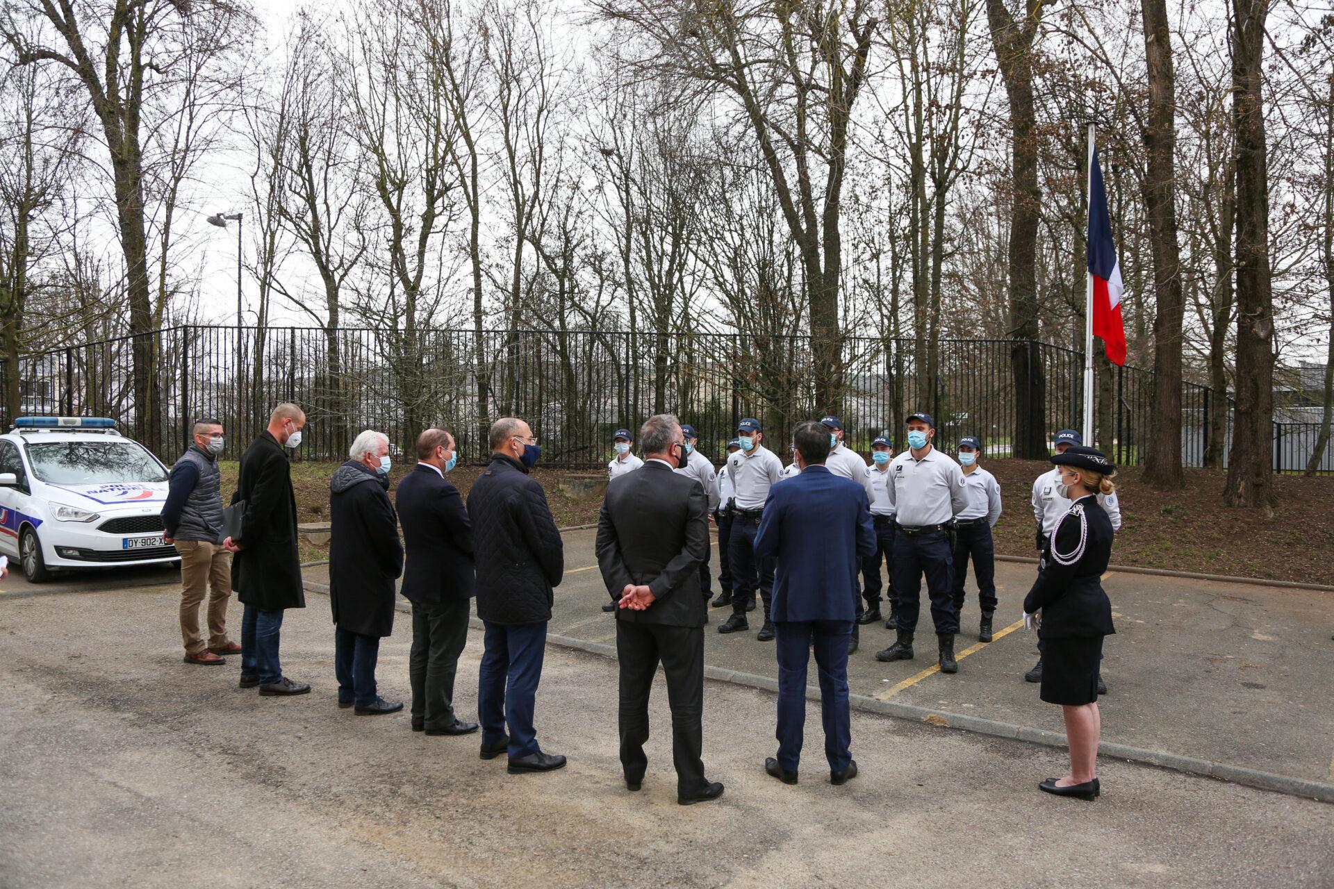 10 nouvelles recrues au commissariat de Val-de-Reuil !