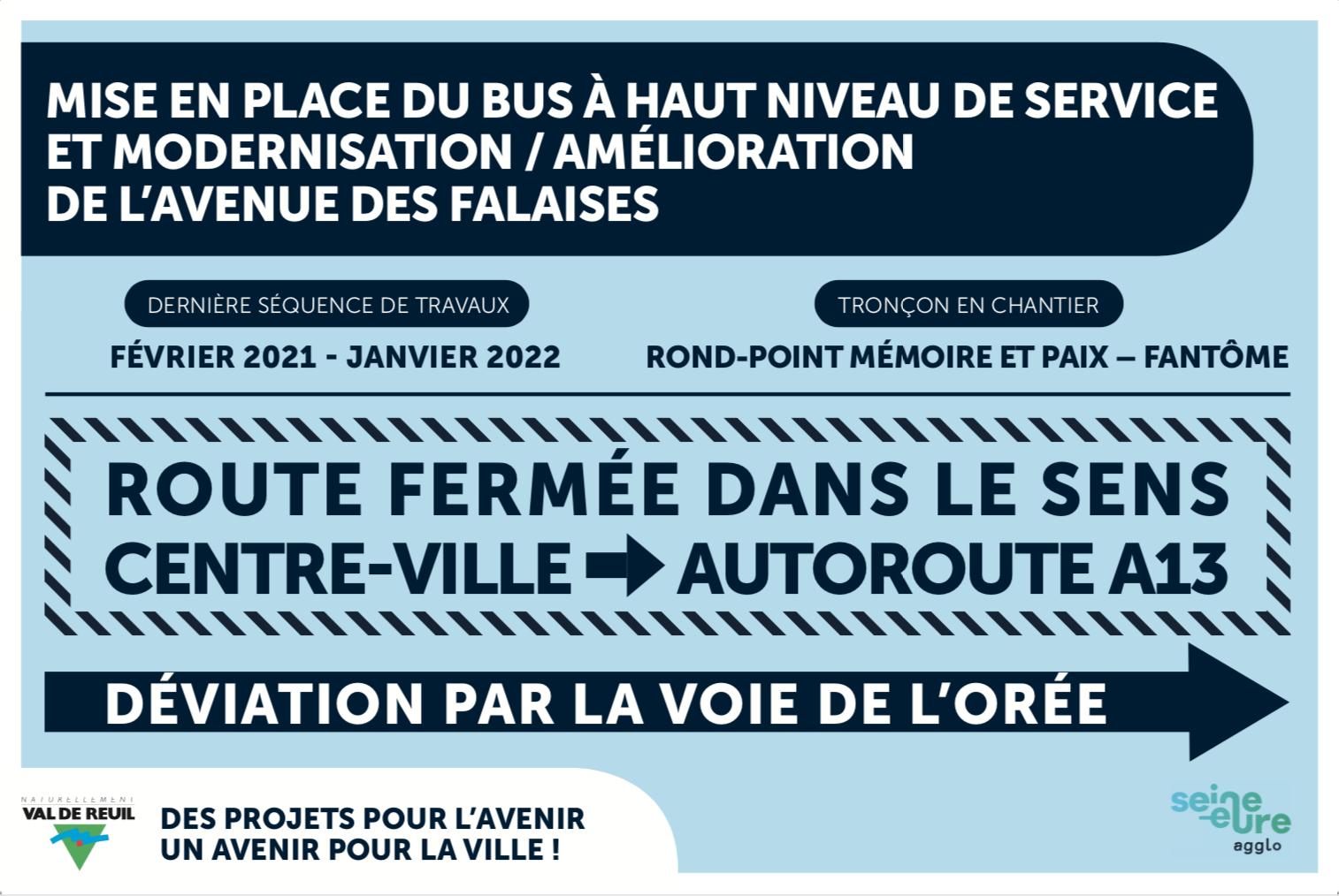 L'avenue des Falaises: la dernière séquence de travaux débute !