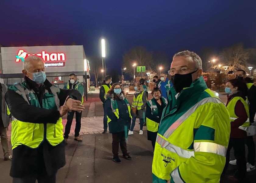 Couvre-feu : dans la nuit rolivaloise, les élus sillonnent la ville
