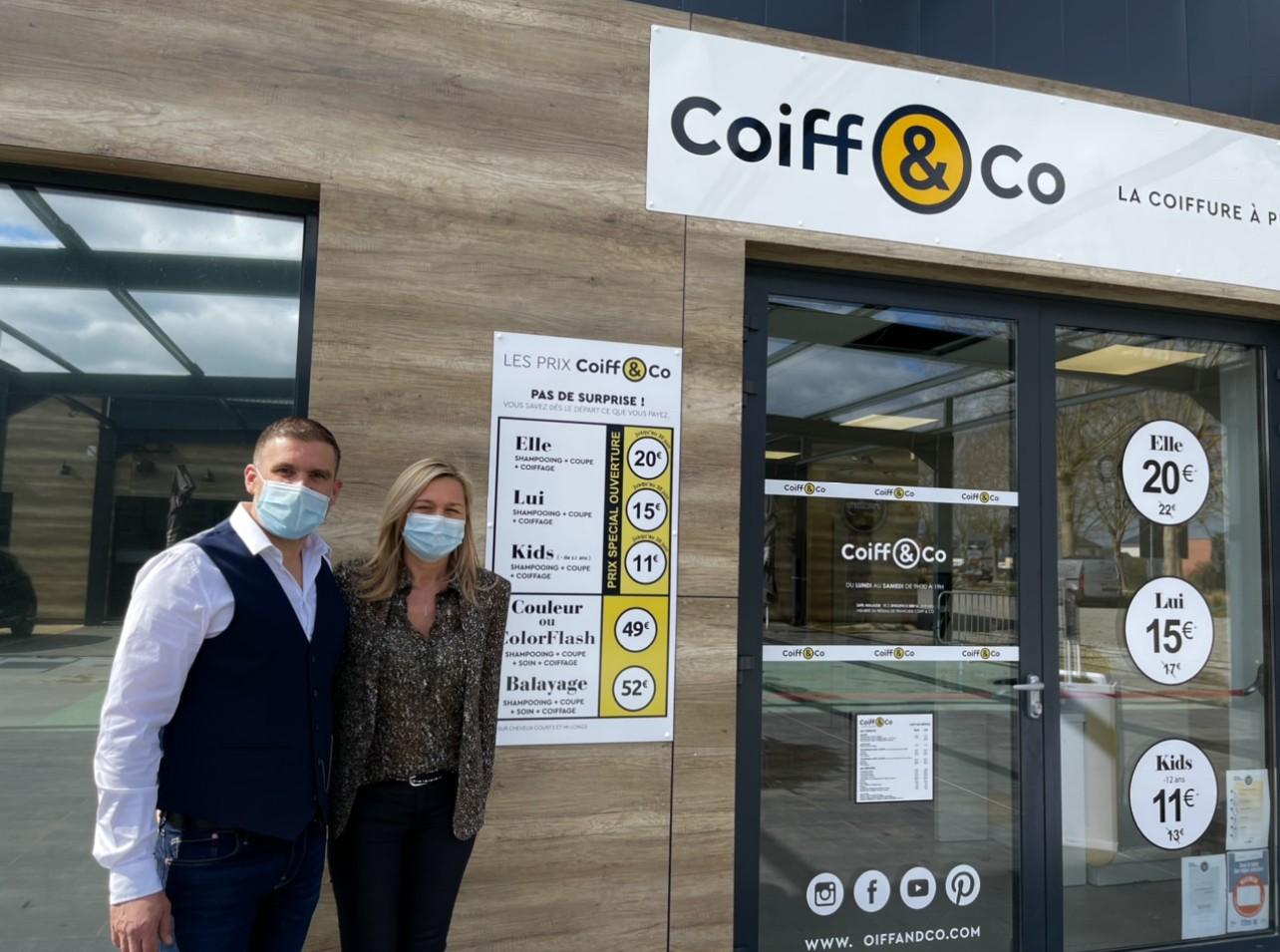 Coiff & Co installe ses ciseaux sur la zone des Falaises