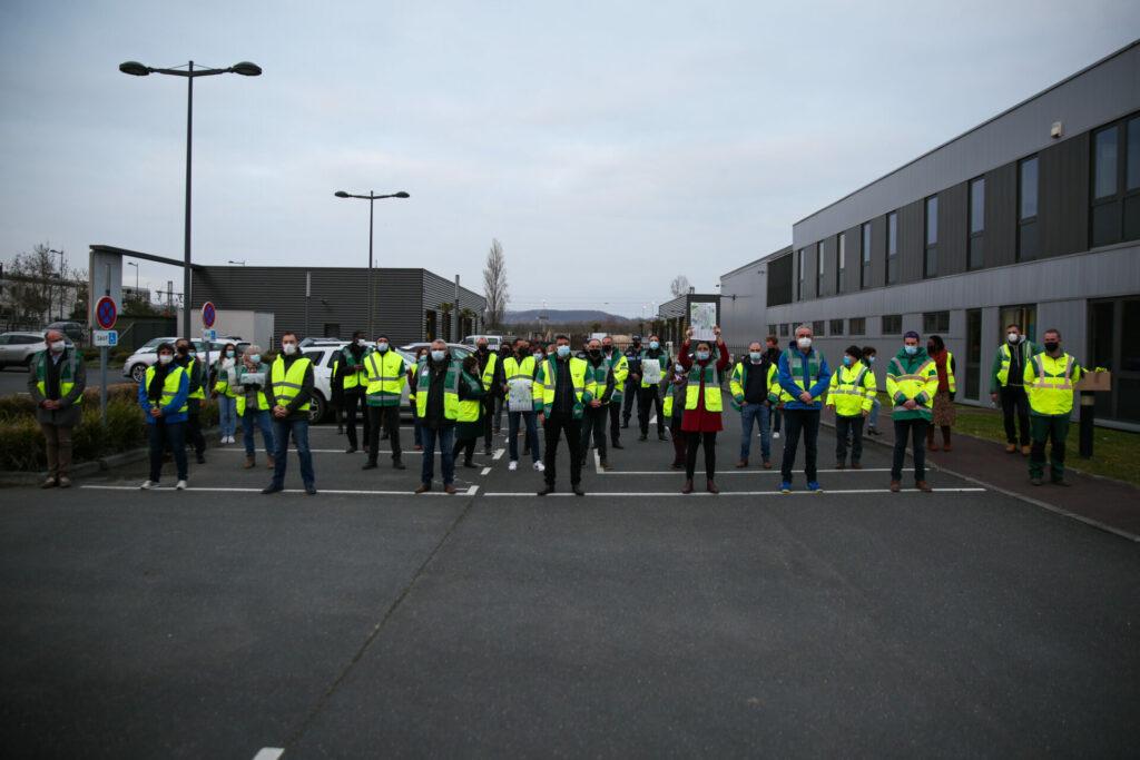 Une quarantaine d'élus et d'agents municipaux mobilisés pour arpenter la ville hier soir