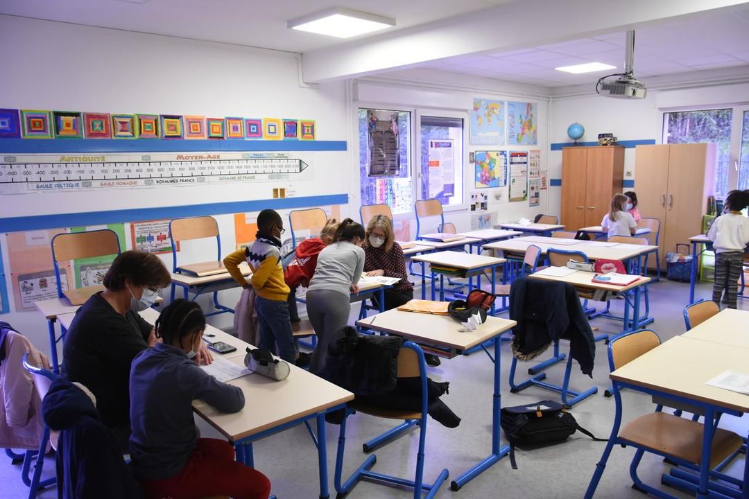 20 petits Rolivalois à l'école cette semaine !
