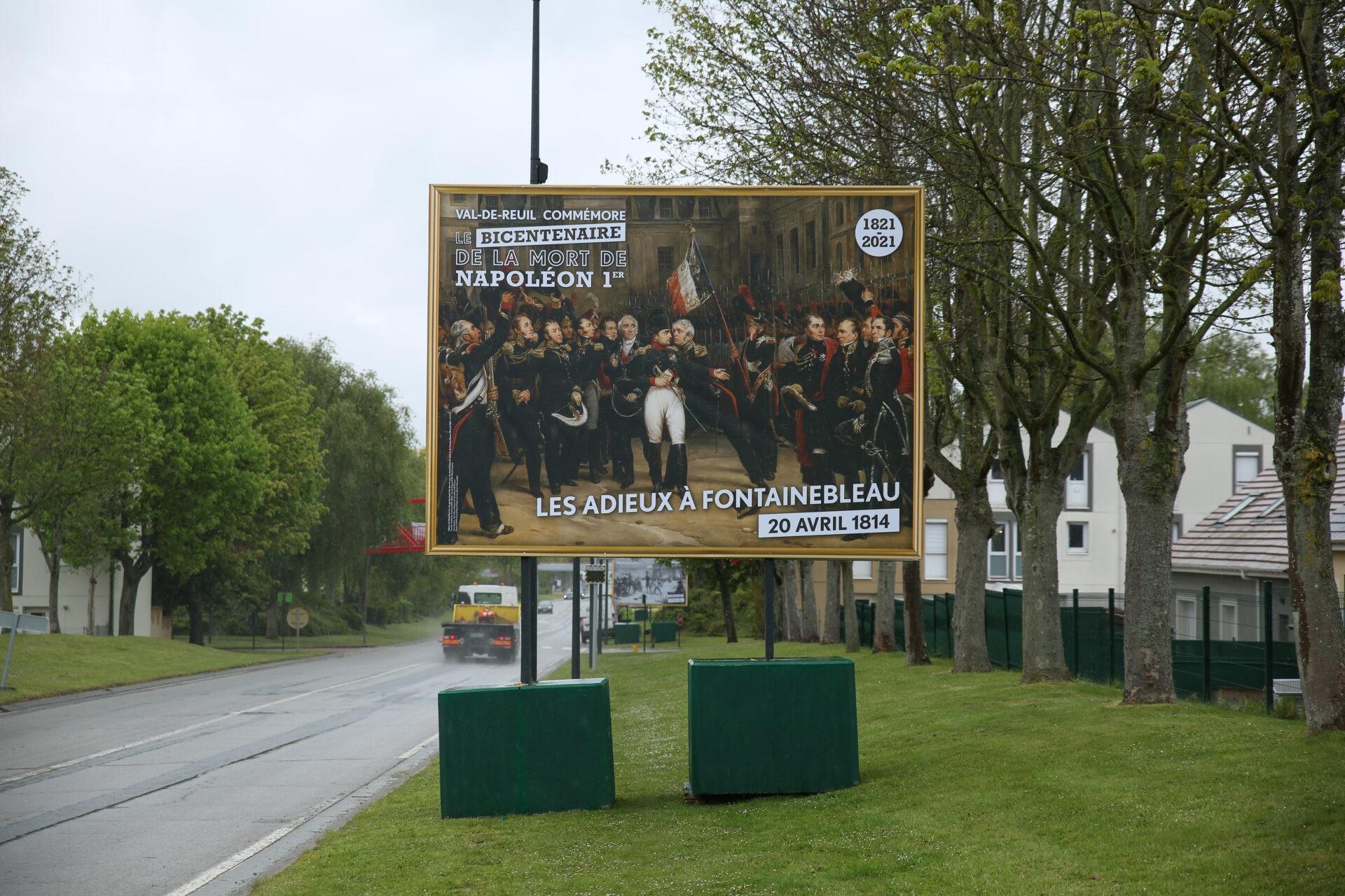 Val-de-Reuil commémore le bicentenaire de la mort de Napoléon