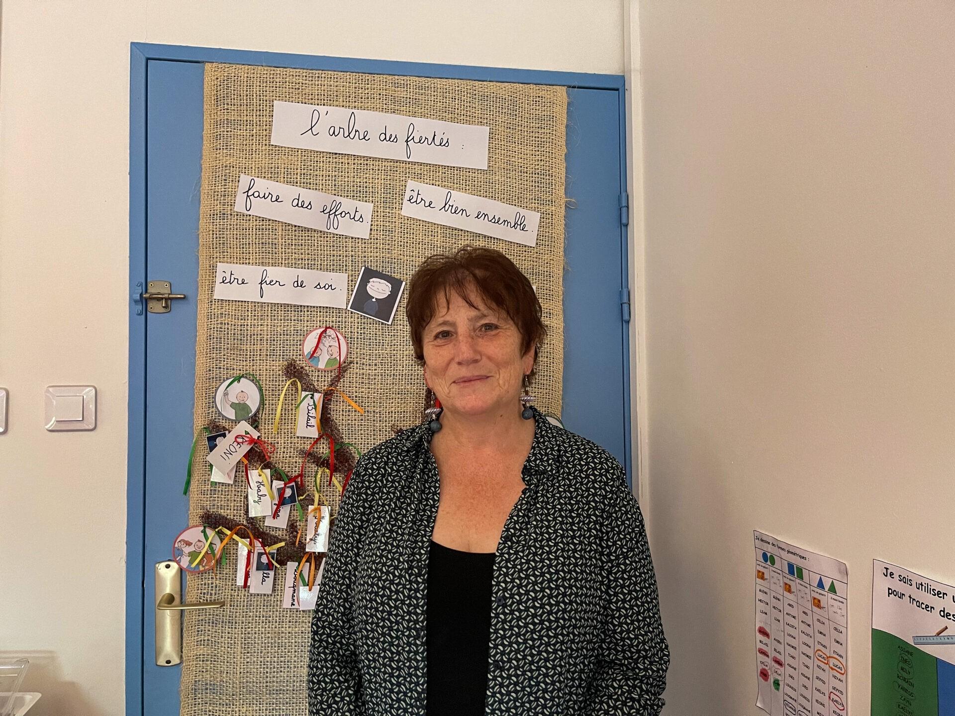 La Directrice de l'école Coluche prend sa retraite